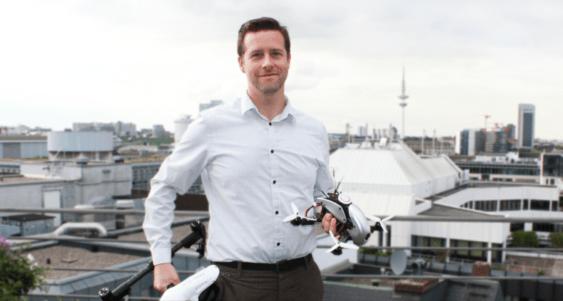 Drohnenflieger Andreas Fröhlich