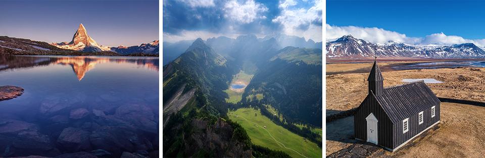 Landschaftsfotos von Dane